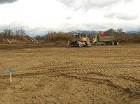 石川県内灘町 メガソーラー設置予定地を造成中