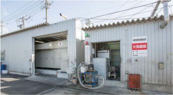 名古屋市港区:プロスペックホールディングス潮見プラントにおける設置例:全景